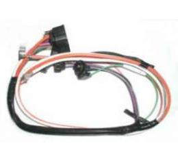 Camaro Console Wiring Harness, For Cars Without Gauges & With Automatic Transmission, 1970-1973