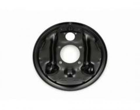 Camaro Brake Drum Backing Plate, Right Rear, 1967-1969