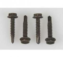 Camaro Floor Shifter Assembly Mounting Screw Set, Automatic Transmission, Powerglide Or Turbo Hydra-Matic 400 (TH400), 1967