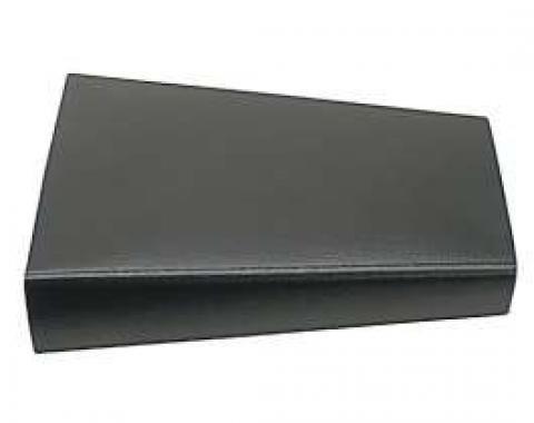 Camaro Console Door Lid, Black, 1968-1969