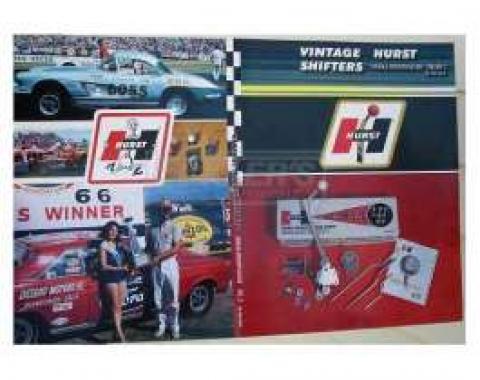 Vintage Hurst Shifter Guide, 1967-2013