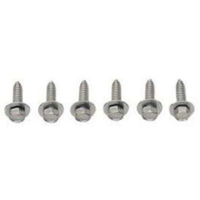 Camaro Grille Mounting Screw Set, Standard Or Rally Sport (RS), 1969