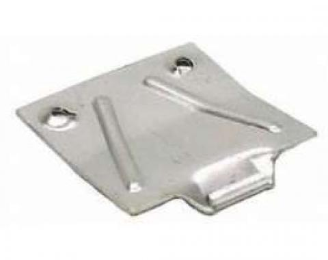 Camaro Glove Box Lock Catch Plate, With Screws, 1967-1968
