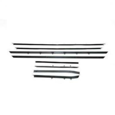 PUI Standard Windowfelt Weather Strip Kit 1968-69 Camaro Hardtop F235-1