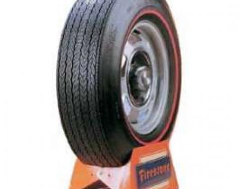 Camaro Tire, F70 x 15, Firestone Wide Oval Red Line, 1970-1974