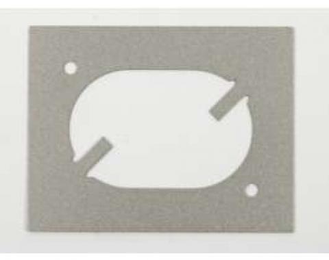 Camaro Remote Mirror Bezel, Door Panel Reinforcement Plate, 1968-1969
