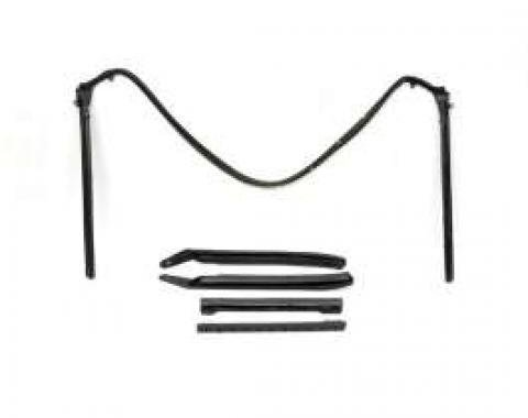 Camaro Convertible Top Frame Weatherstrip Set, 1967-1969