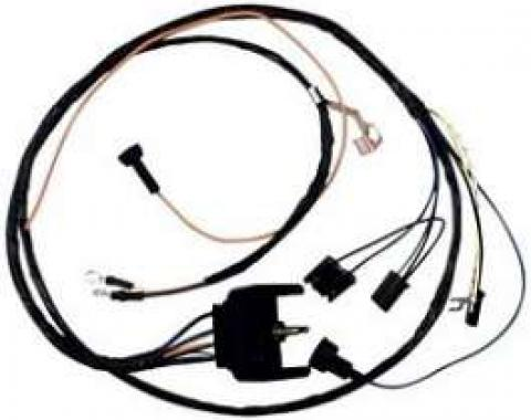Camaro Engine Wiring Harness, Small Block, For Cars With Warning Lights, 1969