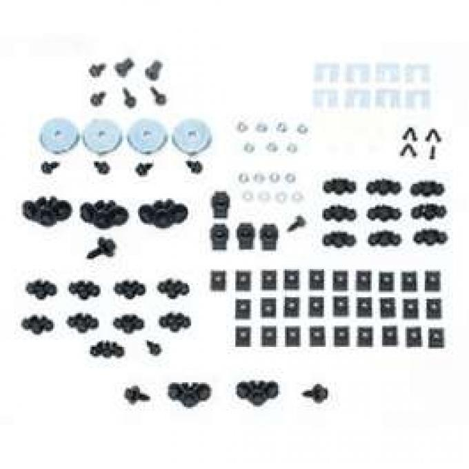 Camaro Basic Front End Assembly Hardware Kit, Rally Sport (RS), 1969