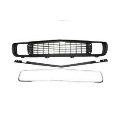 Camaro Grille Kit, Rally Sport (RS), With GM Grille, 1969