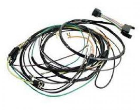 Camaro Console Gauge Conversion Wiring Harness, For Cars With Automatic Transmission Column Shift, 1968