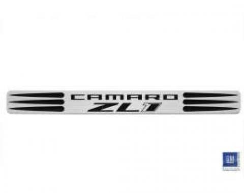 Camaro Door Sills, Two-Tone, ZL1 Logo, 2010-2013