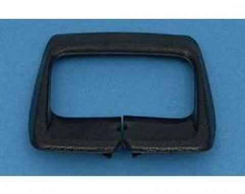 Camaro Bucket Seat Shoulder Strap Retainer, Black, 1974-1976