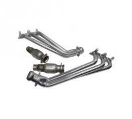 Camaro V6 BBK 1-5/8 Full-Length Polished Ceramic Headers With High-Flow Cats, 2010-2011