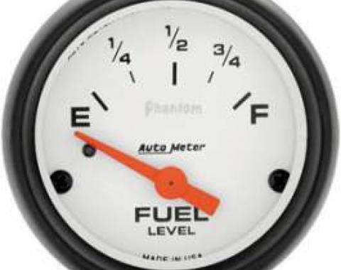 Camaro Fuel Level Gauge, Phantom, AutoMeter