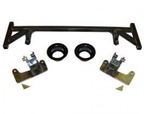 Camaro Coil Over Shock Conversion Bracket Kit, Front, Detroit Speed & Engineering, 1967-1969