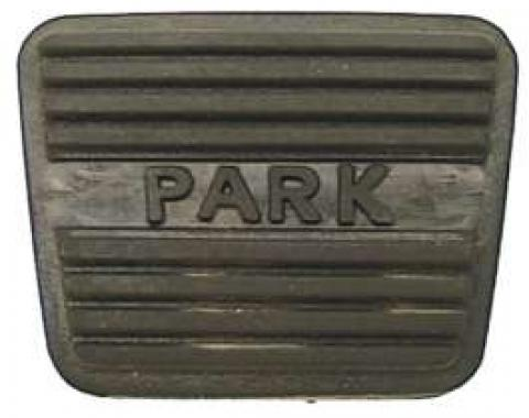 Camaro Parking Brake Pedal Pad, 1967-1968