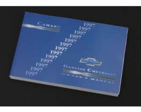 1997 Camaro Owner's Manual