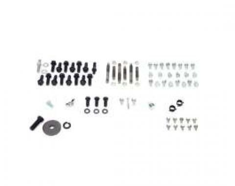 Camaro Master Engine Bolt Kit, 396/325-350hp And 454 With Iron Intake, 1969-1972