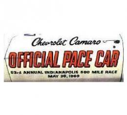 Camaro Pace Car Door Decal Kit, 1969