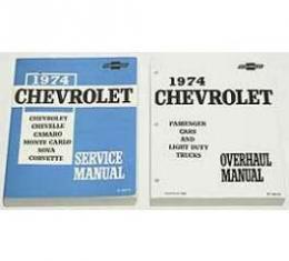 Camaro Service & Shop Manual, 1974