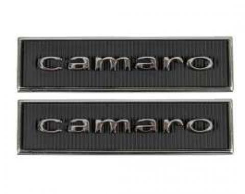 Camaro Door Panel Emblems, Standard Interior, 1967