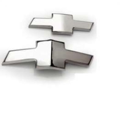 Camaro Emblems, Chrome Bowtie, Front & Rear, 2010-2013