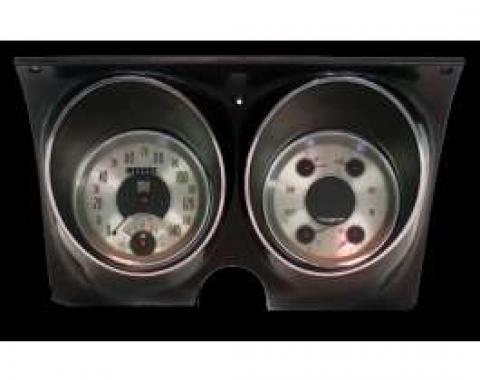 Camaro Updated Gauge Kit, All American Nickel Series, Classic Instruments, 1967-1968