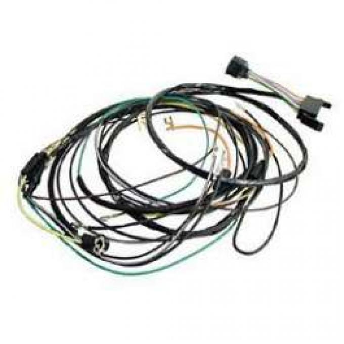 Camaro Console Gauge Conversion Wiring Harness, For Cars With Automatic Transmission Console Shift, 1968