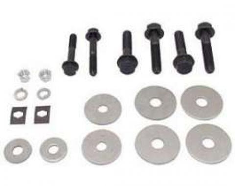 Camaro Subframe & Radiator Support Mounting Bushing & Hardware Set, 1967-1969