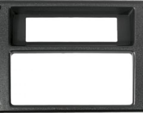 Camaro Console Forward Panel Trim Plate, 1982-1992