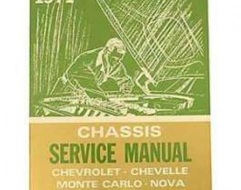 Chevrolet Camaro Service & Shop Manual, 1971