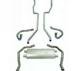 "Camaro Dual Exhaust System, Small Block, 2-1/4"", 1967-1968"