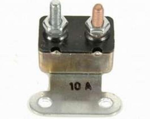 Camaro Headlight Door Circuit Breaker, 10 Amp, Rally Sport (RS), 1967