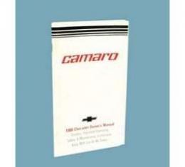 Camaro Owner's Manual, 1980