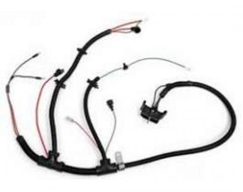 Camaro Engine Wiring Harness, V8, Without NB2 Cal Emissions, 1978