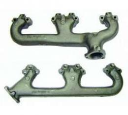Camaro Exhaust Manifolds, Small Block, With A.I.R. Provision, 1970-1981