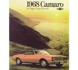 Camaro Dealer Showroom Brochure, 1968