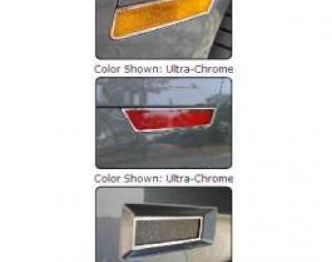 Camaro Bezel Set, Turn Signal & Back-Up Lamp, 2010-2013