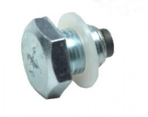 Camaro Oil Pan Drain Plug, Magnetic, 1967-1992