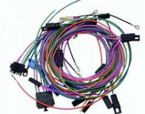 Camaro Console Gauge Pod Wiring Harness Kit, AutoMeter, 1968-1969