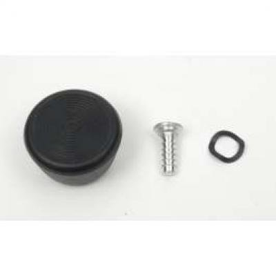 Camaro Window Crank Handle Knob, Black, Door Or Quarter, For Original GM Handles, 1967-1969