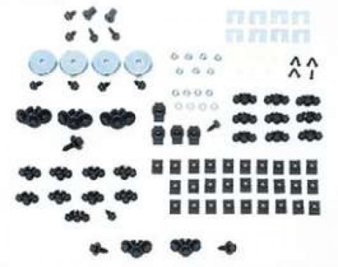 Camaro Basic Front End Assembly Hardware Kit, For Cars With Standard Trim (Non-Rally Sport), 1969
