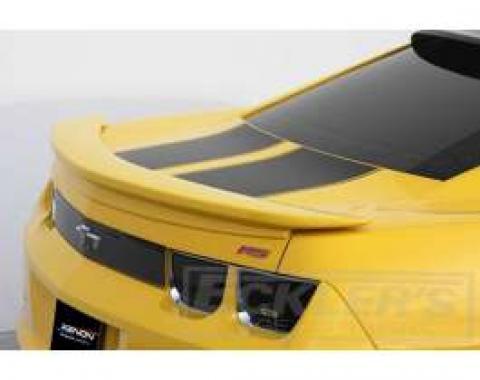 Camaro Rear Deck Spoiler, 1-Piece, Xenon, 2010-2014