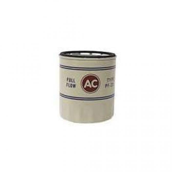 Camaro Oil Filter, PF25, AC, 1968-1969