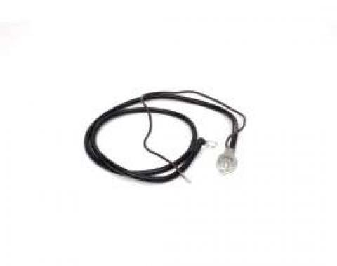 Camaro Battery Cable, Spring Ring, Positive, 302, 327 & 350ci, 1967, 302 & 350ci, 1968