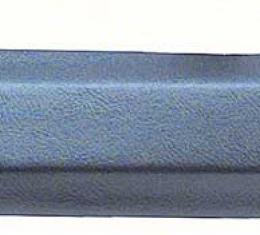 F-Body Pillar Post Moldings, Inner, Convertible, Medium Blue, 1968