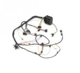 Camaro Under Dash Main Wiring Harness, For Cars With Automatic Transmission Column Shift & Warning Lights, 1968
