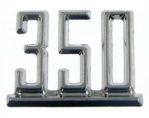 Camaro Fender Emblem, 350, 1967