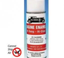 Chevy Engine Spray Paint, 6-Cylinder, Blue